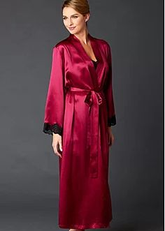 3c975b6eeb Wrap yourself in luxury with Julianna Rae women s robes. Enjoy the finest silk  robes and the most enchanting cotton robes