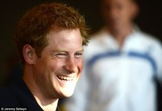 Prince Popular: Prince Harry has been named the nation's favourite royal in a new poll by YouGov