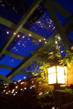 restaurant patio in Santa Fe