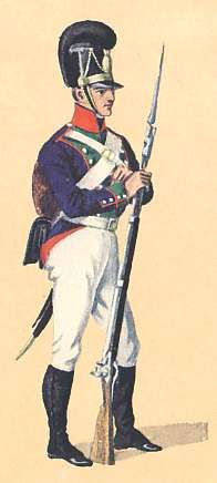 BAYERN - The Infantry of the Bavarian Army 1807: the Uniform Plates of Johann Cantler