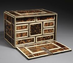 An Indo-Portuguese Tortoiseshell and Ivory Inlaid Cabinet, Gujarat, India, 17th Century | lot | Sotheby's