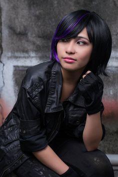 movie big hero 6 character: gogo tomago cosplayer: Jennifer Miyano
