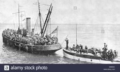 Operation Dynamo, the evacuation of British and Allied troops from Dunkirk 27 May to 3 June 1940. Some of the 'little ships'