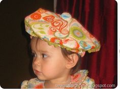 Beret Pattern and Tutorial