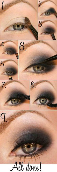 Idee make up nero