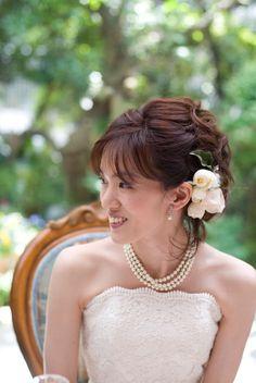 新郎新婦様からのメール アロマ3 : 一会 ウエディングの花