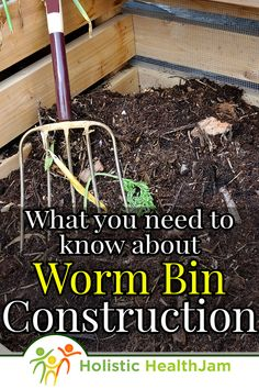 8 Worm Bin Ideas - How To Make A Homemade Worm Compost Bin Vermicomposting (Worm composting)- What Compost Container, Container Gardening, Worm Farm Diy, Worm Beds, Red Wiggler Worms, Cheap Raised Garden Beds, Red Wigglers, Red Worms, Chicken Garden