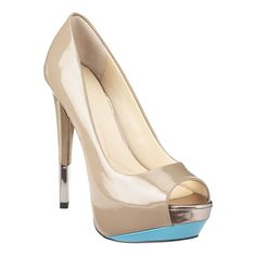 Nalanee  Boutique 9 peep toe pump