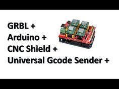 Instalación y configuración de programas para controlar el cnc con arduino
