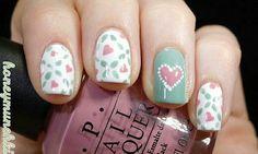 5 Diseños de uñas con corazones ¡Te encantarán! | SocialShow