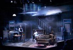 The Piano Lesson. Olney Theatre. Scenic design by Daniel Ettinger.