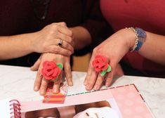 JaeBellz: DIY: Flower Ring Pipe Cleaners