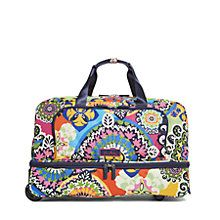 2020f758beb Lighten Up Wheeled Carry On Luggage in Rio   Vera Bradley Vera Bradley  Travel Bag,