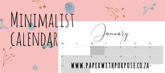 Paper with Purpose is working hard to bring South Africans stunning calendars, printed on recycled paper, for