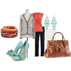 Love these shoes! And the jacket! And, omg, the bag!