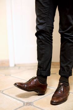 shoes to make love with the man wearing them