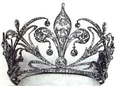 Tiara of Crown Princess Stephanie of Austria | Jewels. All That Glitters. Pretty Things. Diamonds. Jewelry. Accessories. Bling. Crystals.  Rings. Crowns. Shine. Ice.