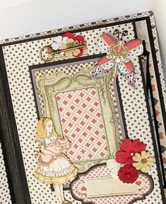 Terry's Scrapbooks: Stamperia Alice In Wonderland Scrapbook Mini Album Mini Scrapbook Albums, Mini Albums, Alice In Wonderland Tea Party, You Make Me Happy, Mad Hatter Tea, Altered Books, Scrapbooks, Crafting, Clip Art