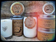 Candles & Mood Elevating Scents