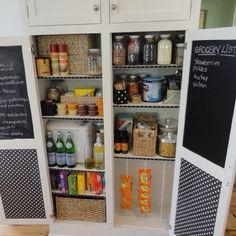 Great pantry idea