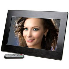 Micca 10Inch Wide Screen High Resolution Digital Photo Frame with Auto OnOff Timer Black 2016 Model ** Click on the image for additional details. (Note:Amazon affiliate link)