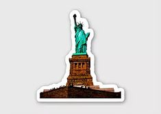 New York Liberty sticker