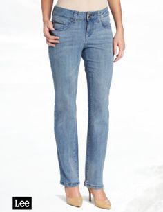 Lee Women's Perfect Fit Collete Straight Leg Jean