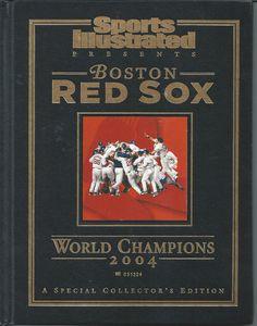 2004 World Series Champions Boston Red Sox Sports Illustrated Collector's Ed #SportsIllustrated #BostonRedSox
