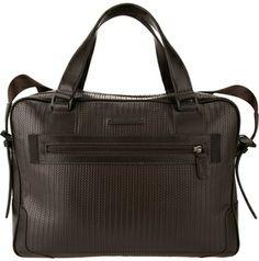 Emporio Armani textured briefcase on shopstyle.com
