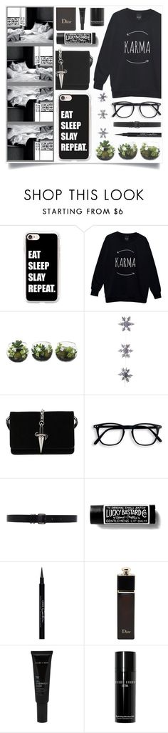"""""""Mistress"""" by racanoki ❤ liked on Polyvore featuring Casetify, East of India, Cesare Paciotti, Ann Demeulemeester, Givenchy, Christian Dior, Allies of Skin, Bobbi Brown Cosmetics and RaCaNoKi"""