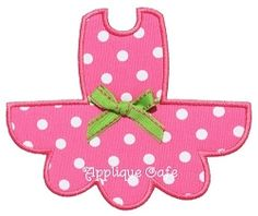 Tutu Applique - 3 Sizes! | Clothes | Machine Embroidery Designs | SWAKembroidery.com
