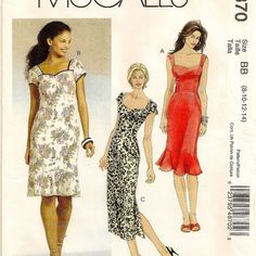 A Close Fitting, Sweetheart Neckline Dress Pattern with Sleeve & Skirt Variations by So Sew Some!