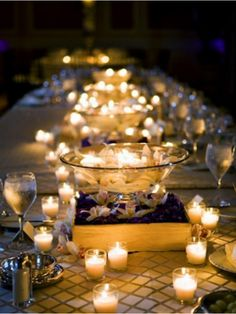 72 Votives with 72 Candles