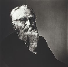 Edward Steichen by Irving Penn