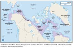 The people of the Canadian Arctic are known as the Inuit. They used to be called Eskimos, which came from a Native American word for 'eater of raw meat'. Now the Arctic people are officially known as the Inuit, which means 'the people', or singularly, Inuk, which means 'the person'.