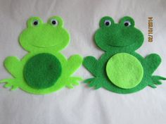 Felt Frog ShapesDIY Kits for Parties and by PearCreekCottage, $4.00 I think these will make a fun party garland!