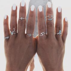 Jewelry accessories - Trend to try: Midi Rings - Jewelry accessories - Tren . - Jewelry accessories – trend to try: Midi Rings – jewelry accessories – trend to try: Midi Rin - Cute Jewelry, Silver Jewelry, Women Jewelry, Fashion Jewelry, Silver Ring, Gold Jewellery, Jewlery, Silver Earrings, Jewellery Shops