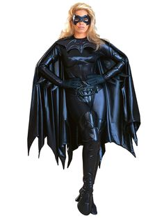 Get this authentic Batgirl costume to complete your authentic Batman group costume for Halloween. This authentic Batgirl costume makes a sexy superhero costume idea. Batgirl Halloween Costume, Batman Halloween, Batman Costumes, Girl Costumes, Adult Costumes, Costumes For Women, Costume Ideas, Women Halloween, Halloween Ideas
