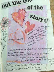 Workshops – Online and Offline – Cate Field  Creative Art Journalling - using words and images to explore ideas - Carol Ann Duffy Poetry art craft writing