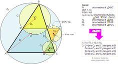 Math Geometry Problem 92: Similar triangles, parallel, tangent circles, circumradius, circumcircle, circumcenter. Elearning
