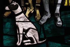All Saints Kilham East Yorkshire   by davewebster14, Harry Harvey stained glass detail