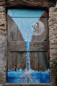 Door in Valloria, Italy | Flickr - Photo Sharing!   ..rh