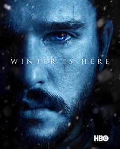 Winter is here   Jon Snow