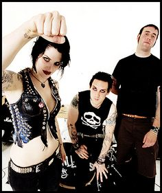 The Distillers. Brody Dalle was my high school idol haha I love her