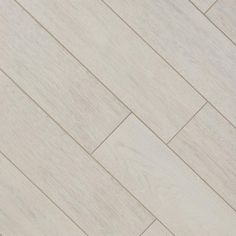 Newtron White Wood Plank Porcelain Tile - 8in. x 45in. - 100105964 | Floor and Decor