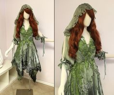 Woodland Handfasting Dress by Lillyxandra On Deviantart Ideas Of Woodland Fairy Costume Diy Fairy Costume Diy, Woodland Fairy Costume, Faerie Costume, Fairy Costumes, Woodland Elf, Wood Elf Costume, Costume Ideas, Fairy Cosplay, Mode Costume