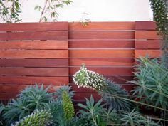 Another sweet slat fence