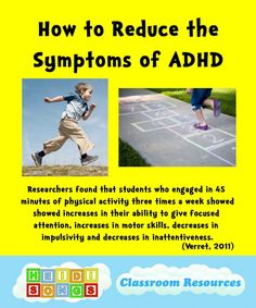 Did you know that children with ADHD often learn much better when the lesson has movement in it? Trying to force these active children to . Adhd Help, Add Adhd, Adhd And Autism, Adhd Kids, Auditory Processing Disorder, Sensory Processing, Attention Disorder, What Is Adhd, Adhd Symptoms