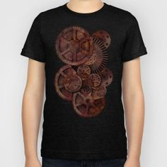 Steampunk Kids T-Shirt by Paul Stickland for StrangeStore - $20.00 #strangestore #steampunk