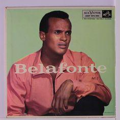 "Harry Belafonte record album ""Belefonte"" vintage 1956 ~ music gift ~ gift for music lover ~ vinyl album ~ folk music gift ~ record gift Cd Cover Art, Harry Belafonte, Greatest Hits, Lps, Role Models, Acting, Hero, American, Bigfoot"